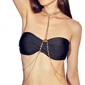 Body Rhinestone Necklaces Jewelry Bra Chain
