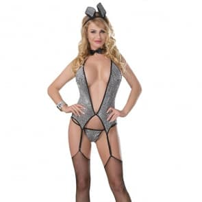 Sparkly Hopper Bunny Cosplay Costumes Lingerie